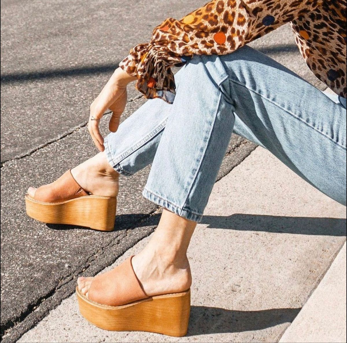 Sky-high-flatforms 60+ Hottest Shoe Fashion Trends in 2021