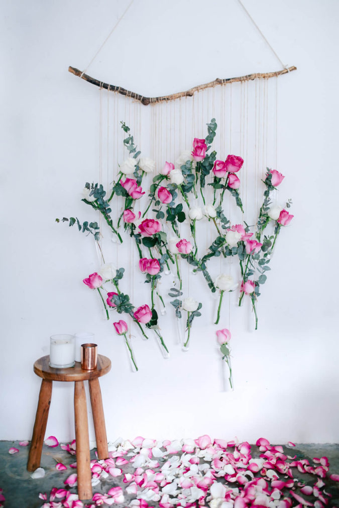 Special-romantic-flowers.-4-675x1013 70+ Hottest Marriage Anniversary Decoration Ideas at Home