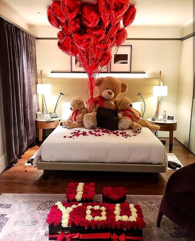 Special-romantic-flowers...-675x833 70+ Hottest Marriage Anniversary Decoration Ideas at Home