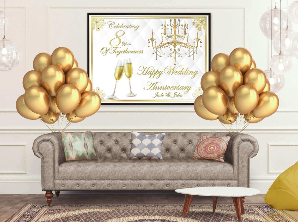 The-anniversary-banner-2-1024x764 70+ Hottest Marriage Anniversary Decoration Ideas at Home
