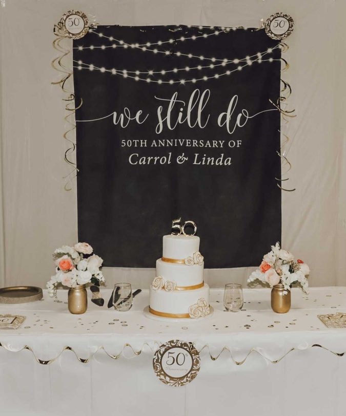The-anniversary-banners...-675x810 70+ Hottest Marriage Anniversary Decoration Ideas at Home