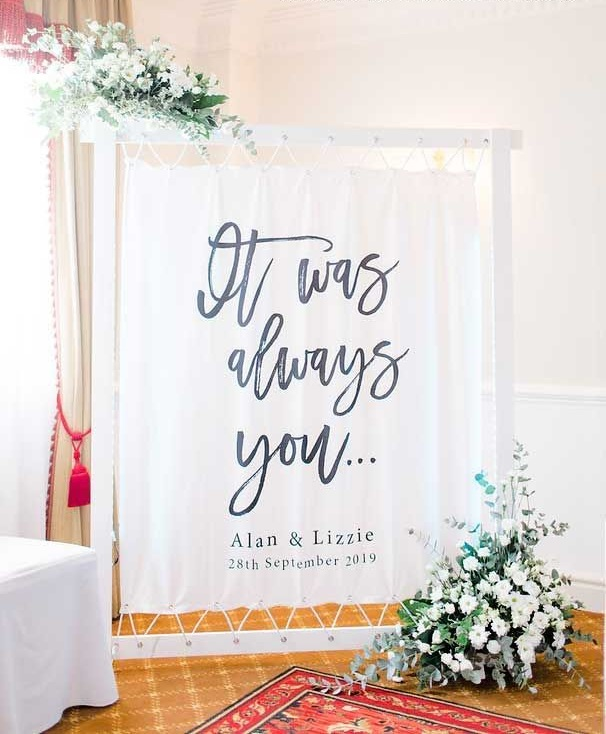 The-anniversary-banners.. 70+ Hottest Marriage Anniversary Decoration Ideas at Home