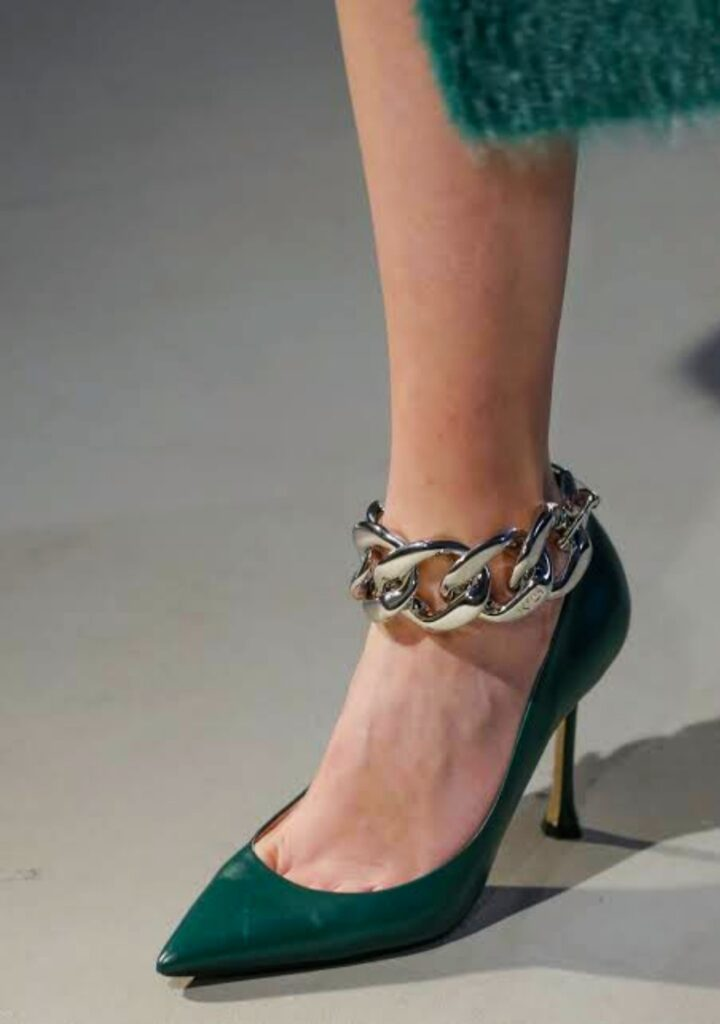 Thick-chains. 60+ Hottest Shoe Fashion Trends in 2021