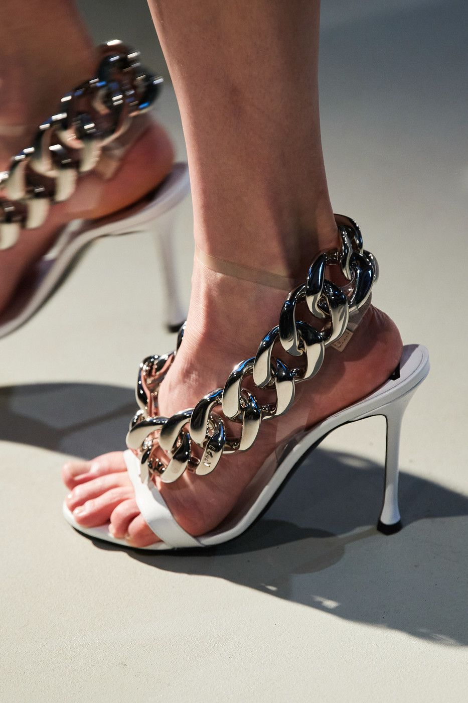 Thick-chains 60+ Hottest Shoe Fashion Trends in 2021