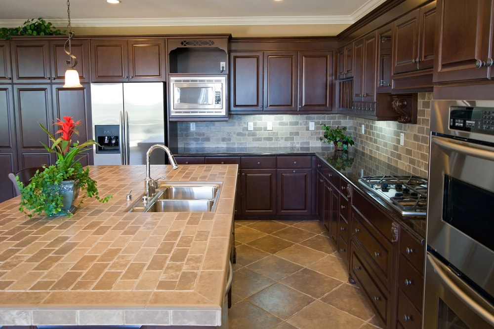 Tile-countertops.-1 70+ Outdated Decorating Trends and Ideas Coming Back in 2021