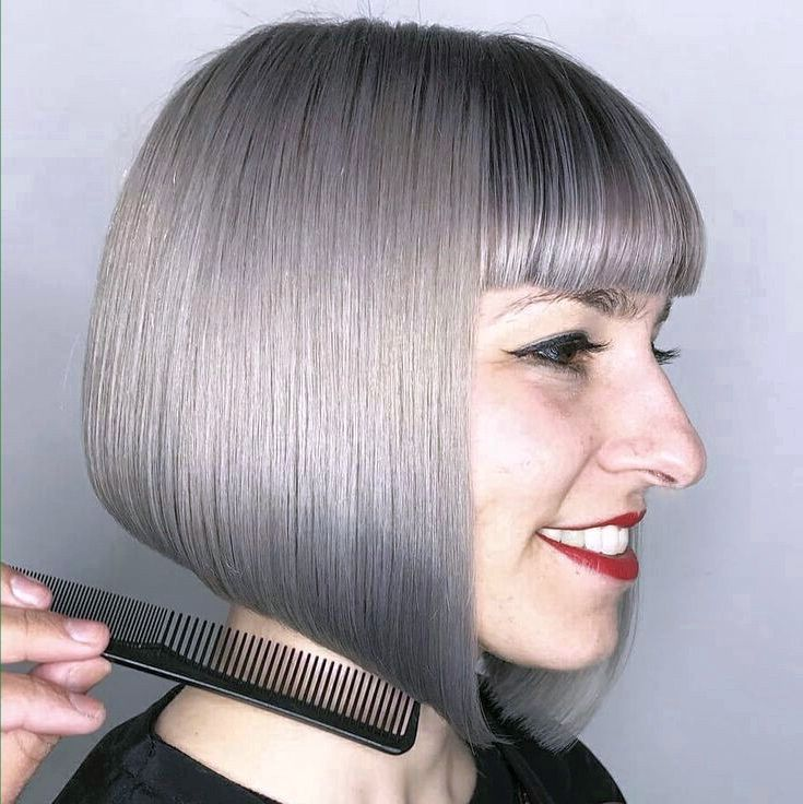 Wedge-Haircut-with-Bangs. 70+ Outdated Hairstyle Ideas Coming Back in 2021