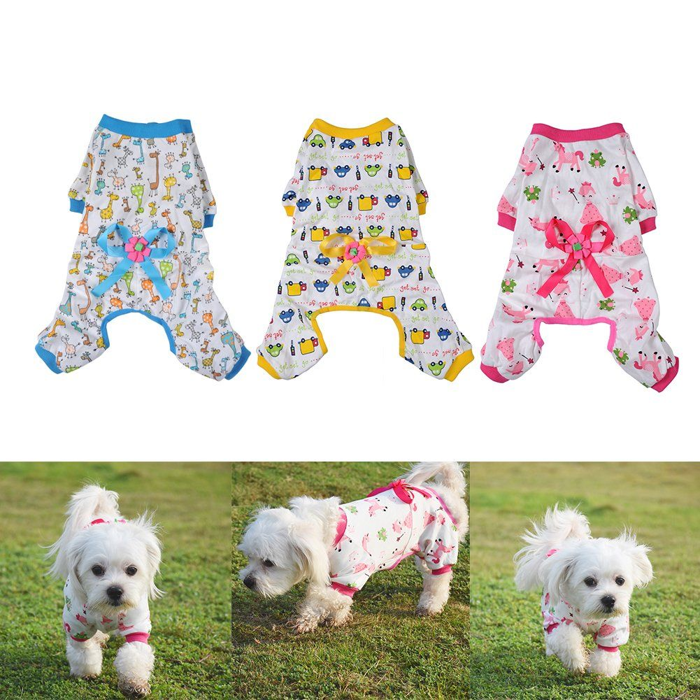 Widen-Pet-Dog-Clothes-Pajamas-Coat-Jumpsuit-1 Cutest 10 Pajamas for Dogs on Amazon in 2021/2022