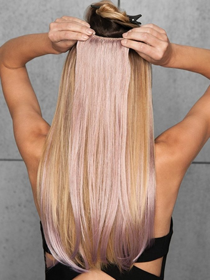 color-hair-extension-clips-675x900 Is clip-In Hair Extensions Suitable for Short Hair?