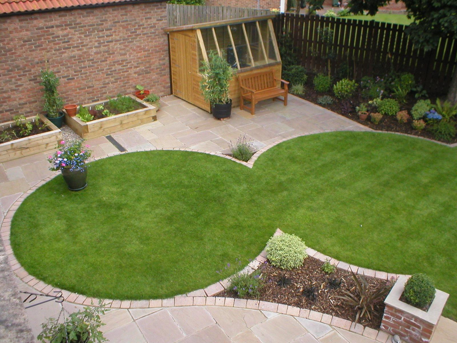 lawn-shapes. 100+ Surprising Garden Design Ideas You Should Not Miss in 2021
