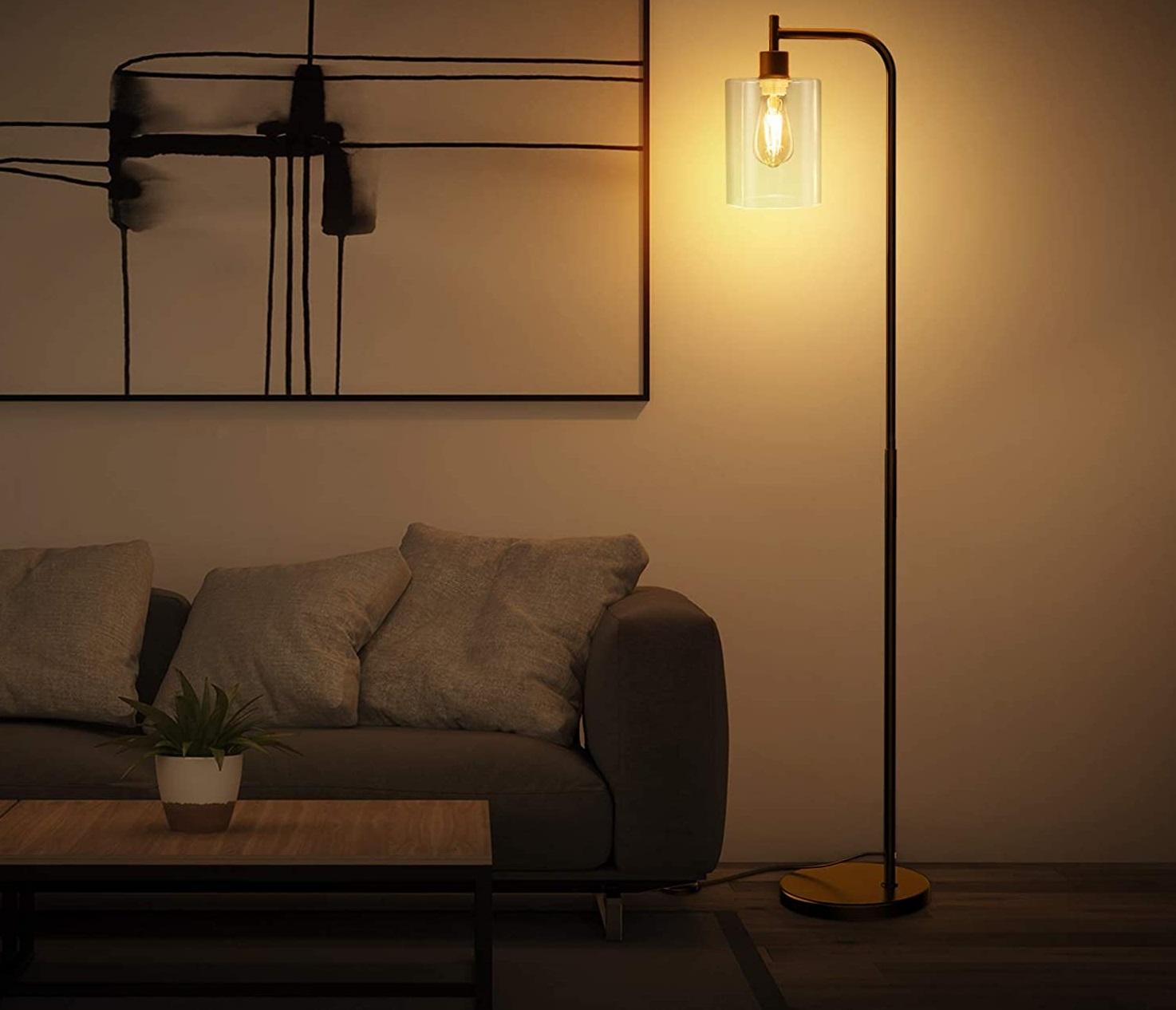 Add-LED-Floor-Lamp. 10 Unique Floor Lamps to Brighten Your Living Room
