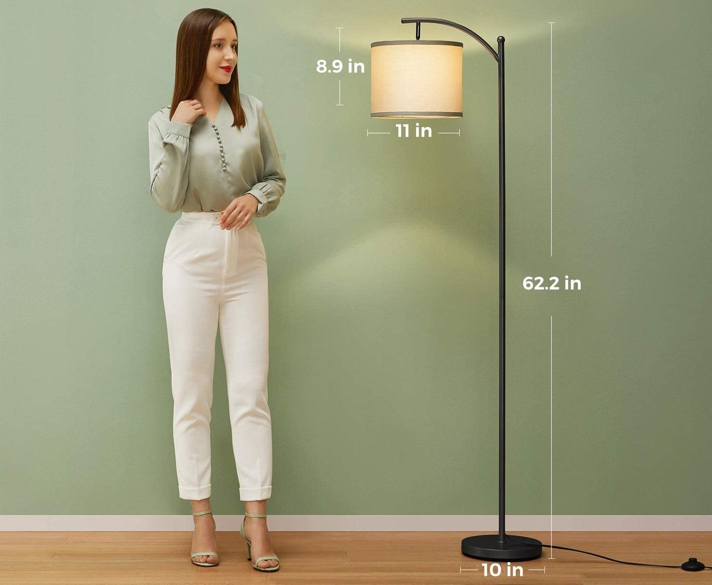 Addlon-Floor-Lamp-for-Living-Room-1 10 Unique Floor Lamps to Brighten Your Living Room
