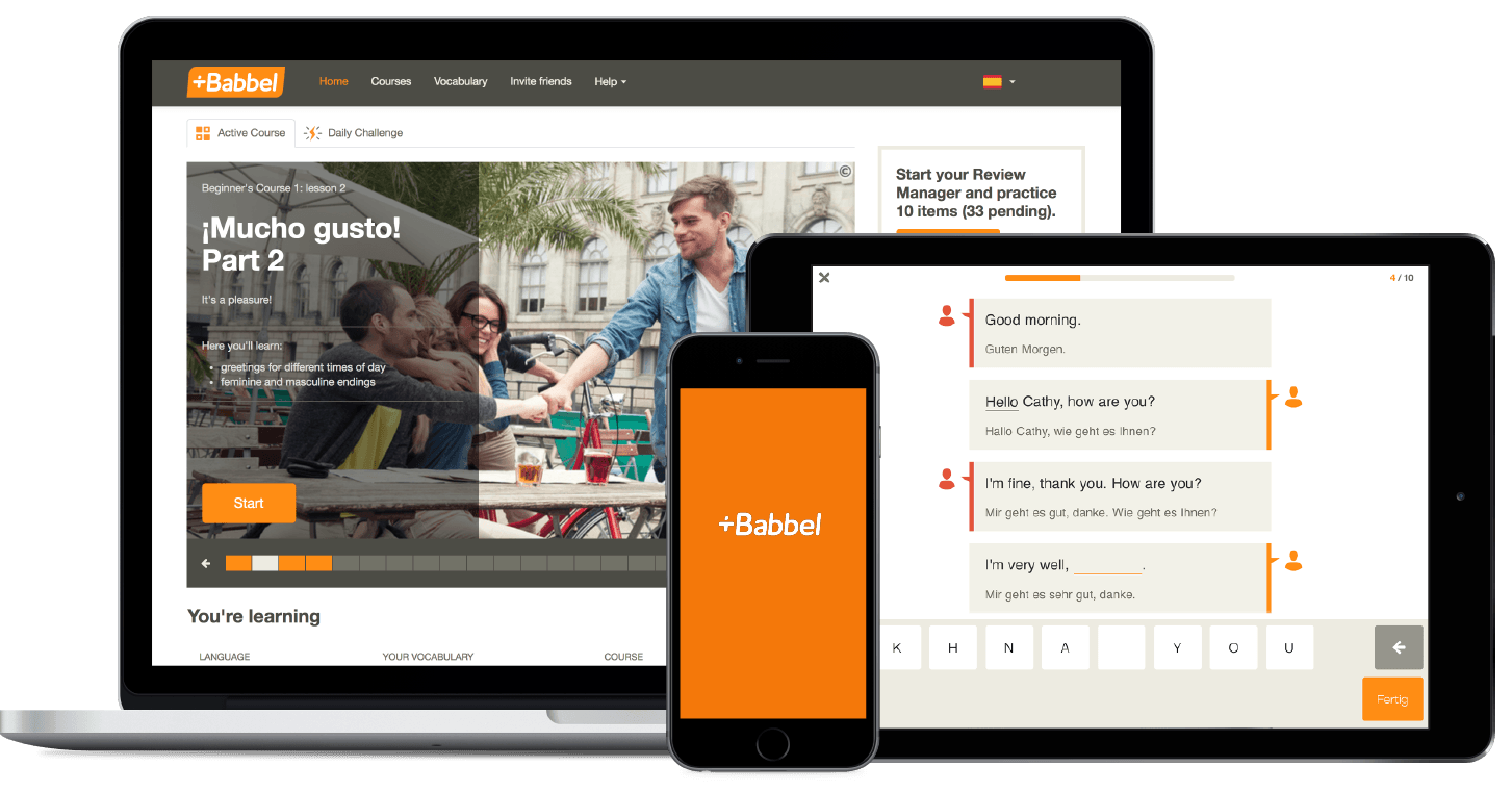 Babbel-language-app Best Language Learning Apps of 2021
