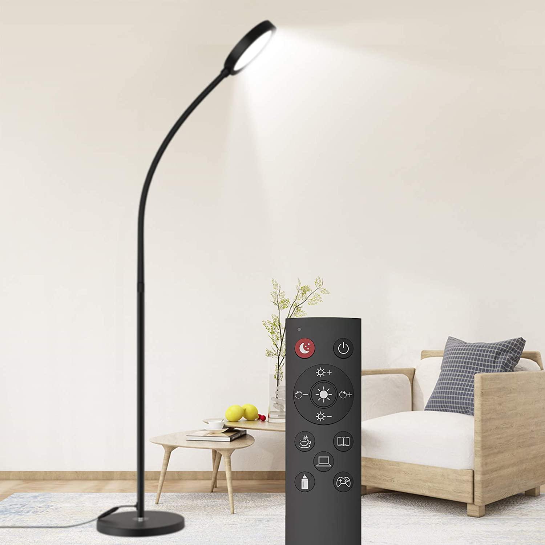 Dodocool-Floor-Lamp-Remote-Touch-Control 10 Unique Floor Lamps to Brighten Your Living Room