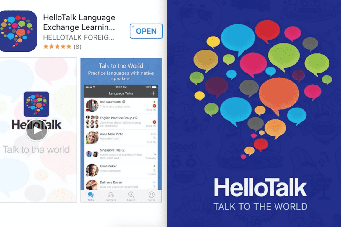 HelloTalk-app Best Language Learning Apps of 2021