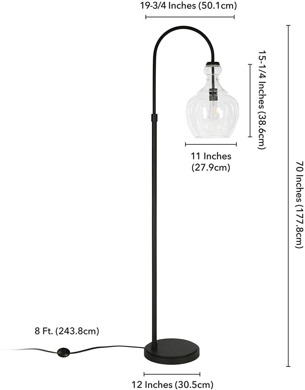 HennHart-Arc-Blackened-Bronze-Floor-Lamp.-1024x1308 10 Unique Floor Lamps to Brighten Your Living Room