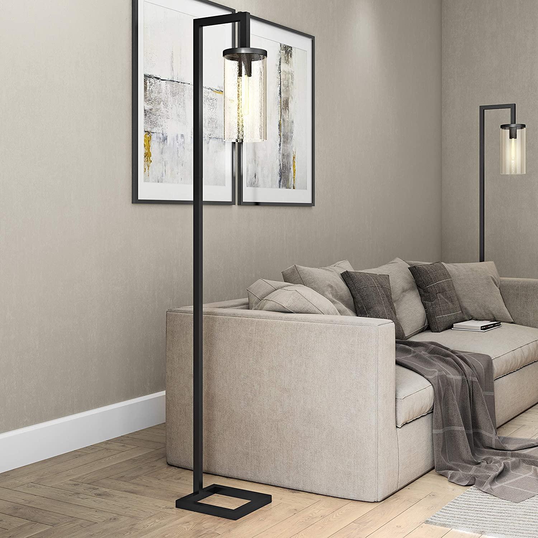 HennHart-FL0014-Modern-farmhouse-seeded-floor-lamp 10 Unique Floor Lamps to Brighten Your Living Room