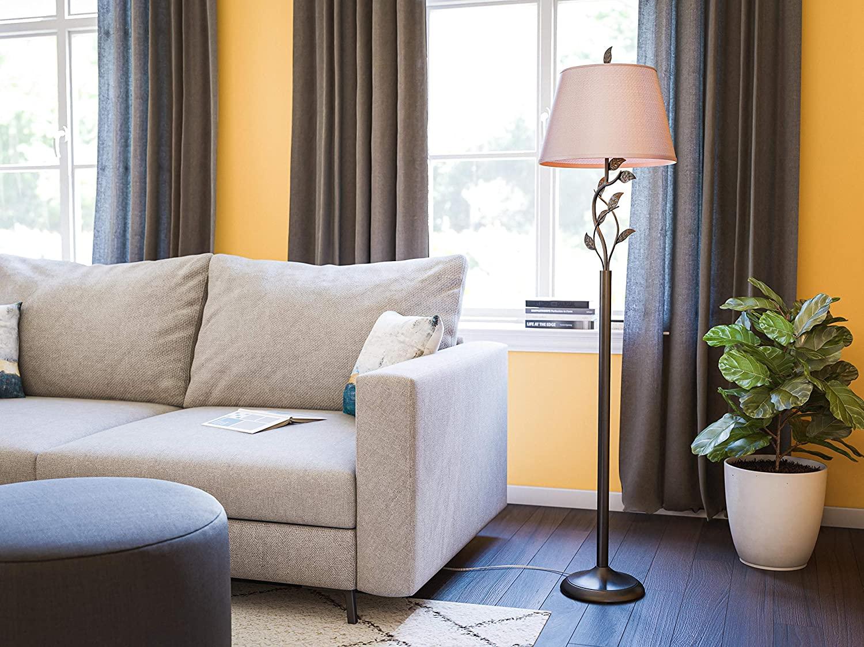 Kenroy-Home-Rustic-Floor-Lamp. 10 Unique Floor Lamps to Brighten Your Living Room