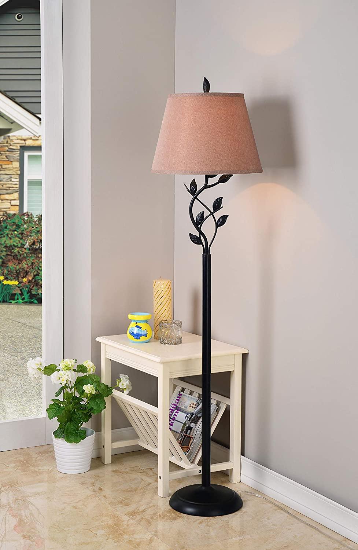 Kenroy-Home-Rustic-Floor-Lamp 10 Unique Floor Lamps to Brighten Your Living Room