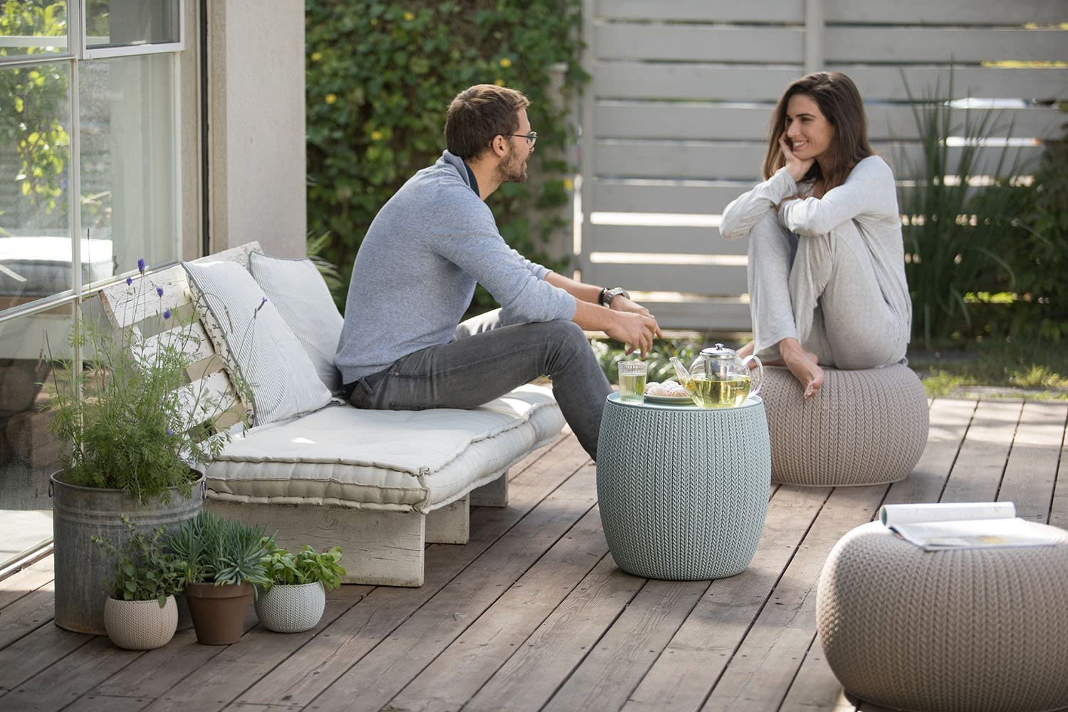 Keter-Urban-Knit-1 15 Unique Furniture Designs for Outdoor Small Spaces