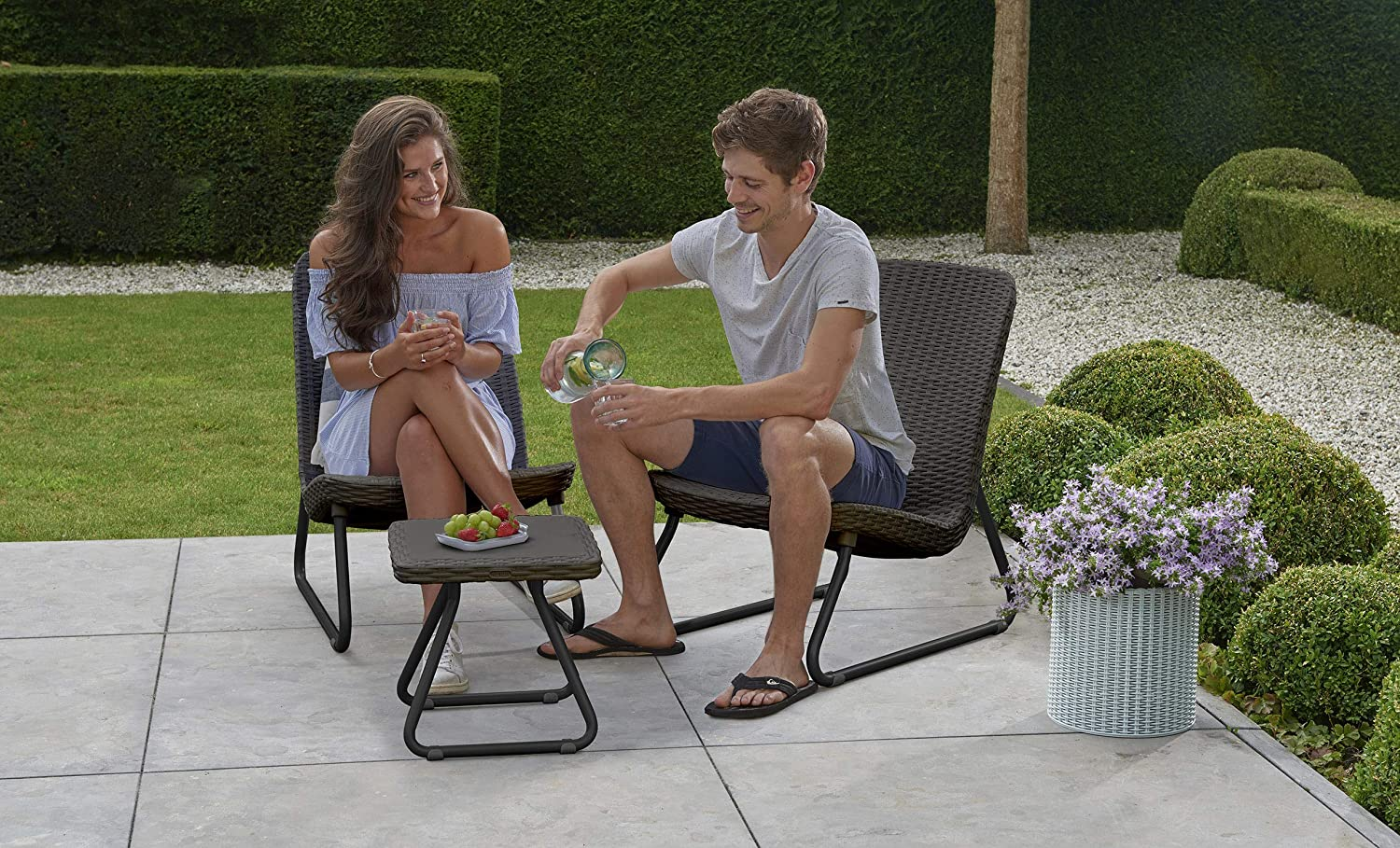 Keter-outdoor-furniture-. 15 Unique Furniture Designs for Outdoor Small Spaces