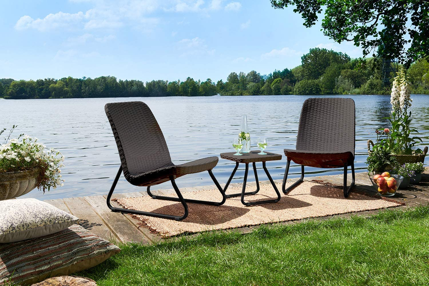 Keter-outdoor-furniture 15 Unique Furniture Designs for Outdoor Small Spaces