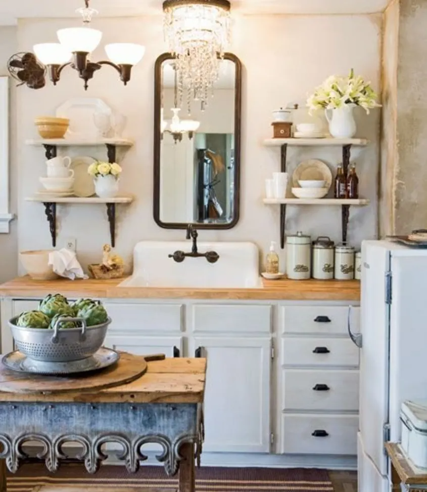 Mirrors-in-kitchen-1 80+ Unusual Kitchen Design Ideas for Small Spaces in 2021