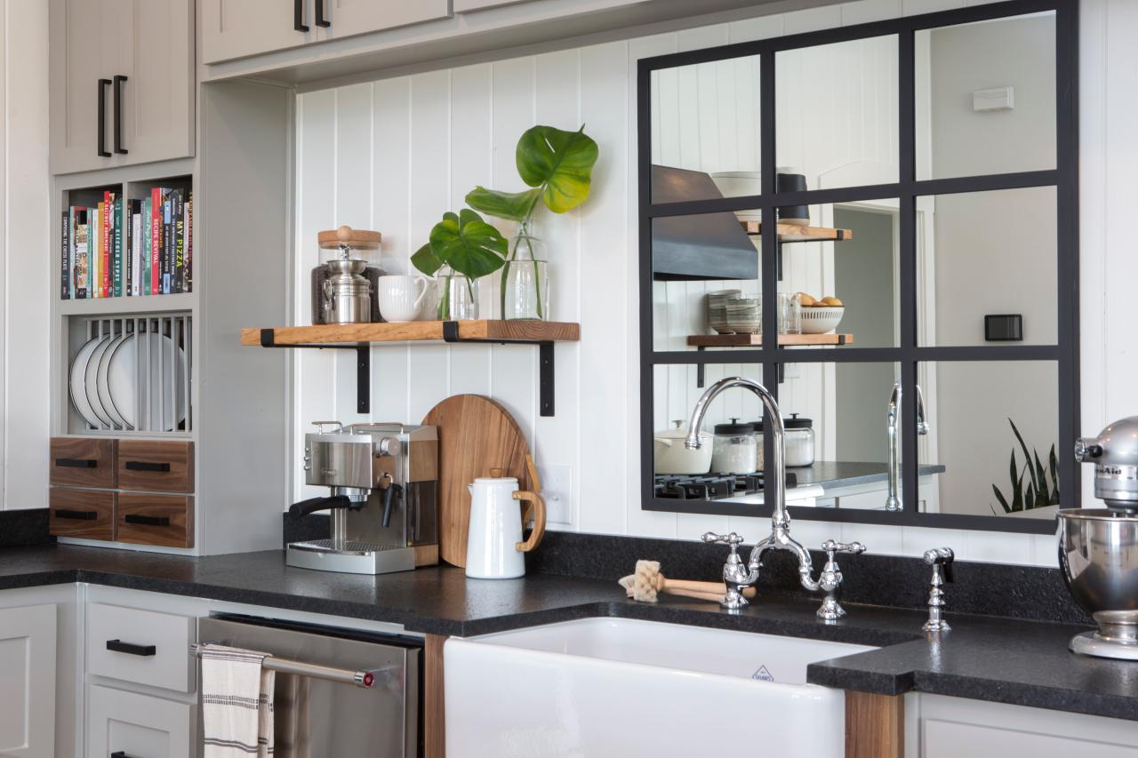 Mirrors-in-kitchen 80+ Unusual Kitchen Design Ideas for Small Spaces in 2021