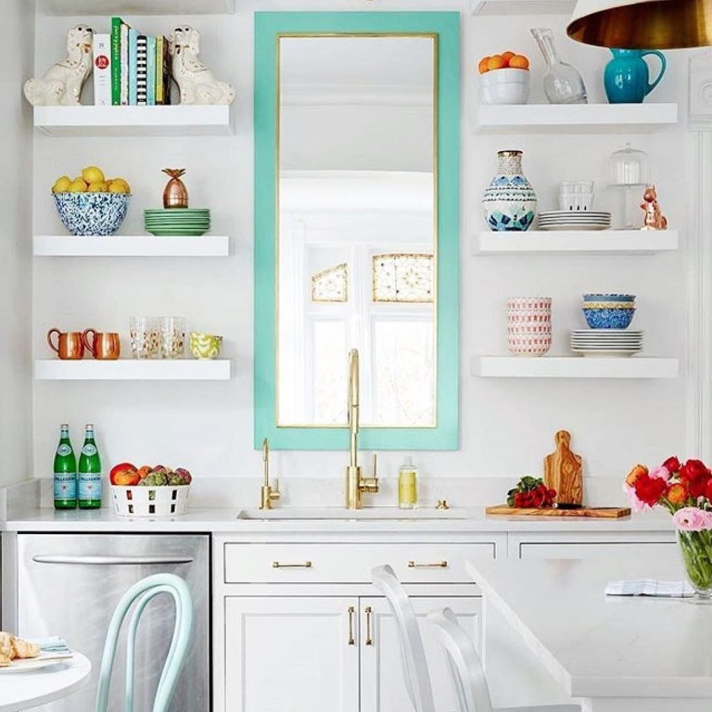 Mirrors-in-kitchens..-1024x1024 80+ Unusual Kitchen Design Ideas for Small Spaces in 2021