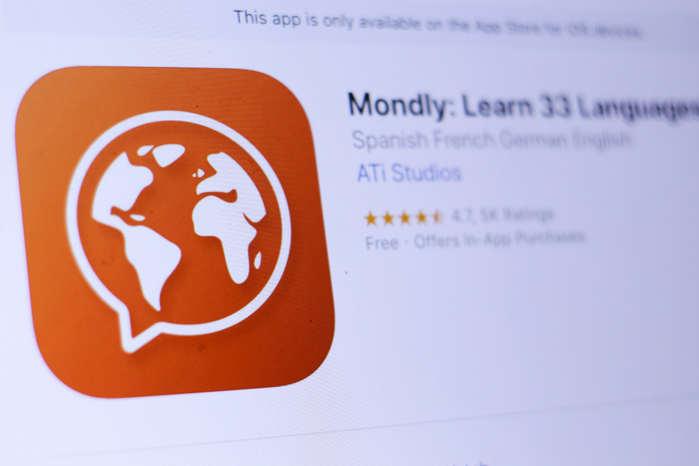 Mondly-app Best Language Learning Apps of 2021