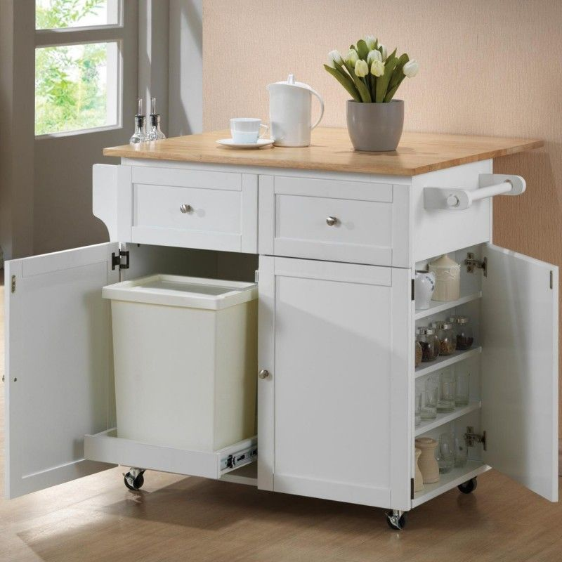 Movable-counter 80+ Unusual Kitchen Design Ideas for Small Spaces in 2021