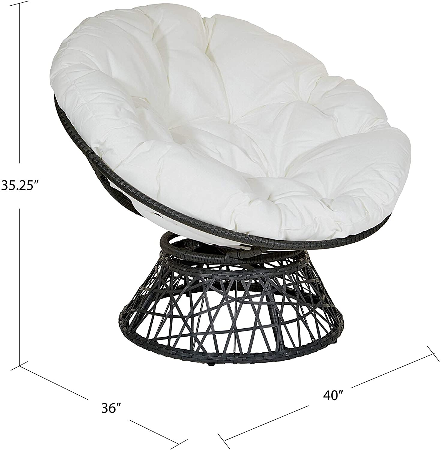 OSP-design-papasan-chair-. 15 Unique Furniture Designs for Outdoor Small Spaces