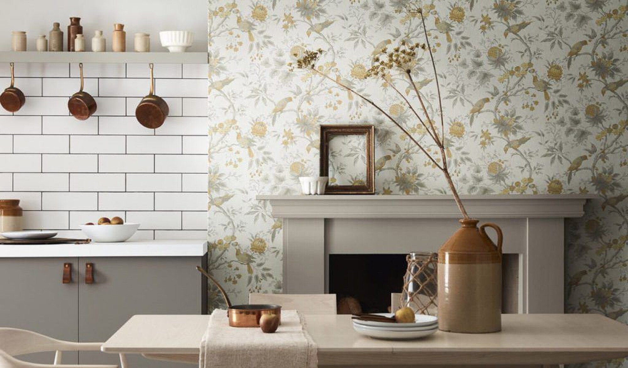 Scenery-wallpapers-1 80+ Unusual Kitchen Design Ideas for Small Spaces in 2021
