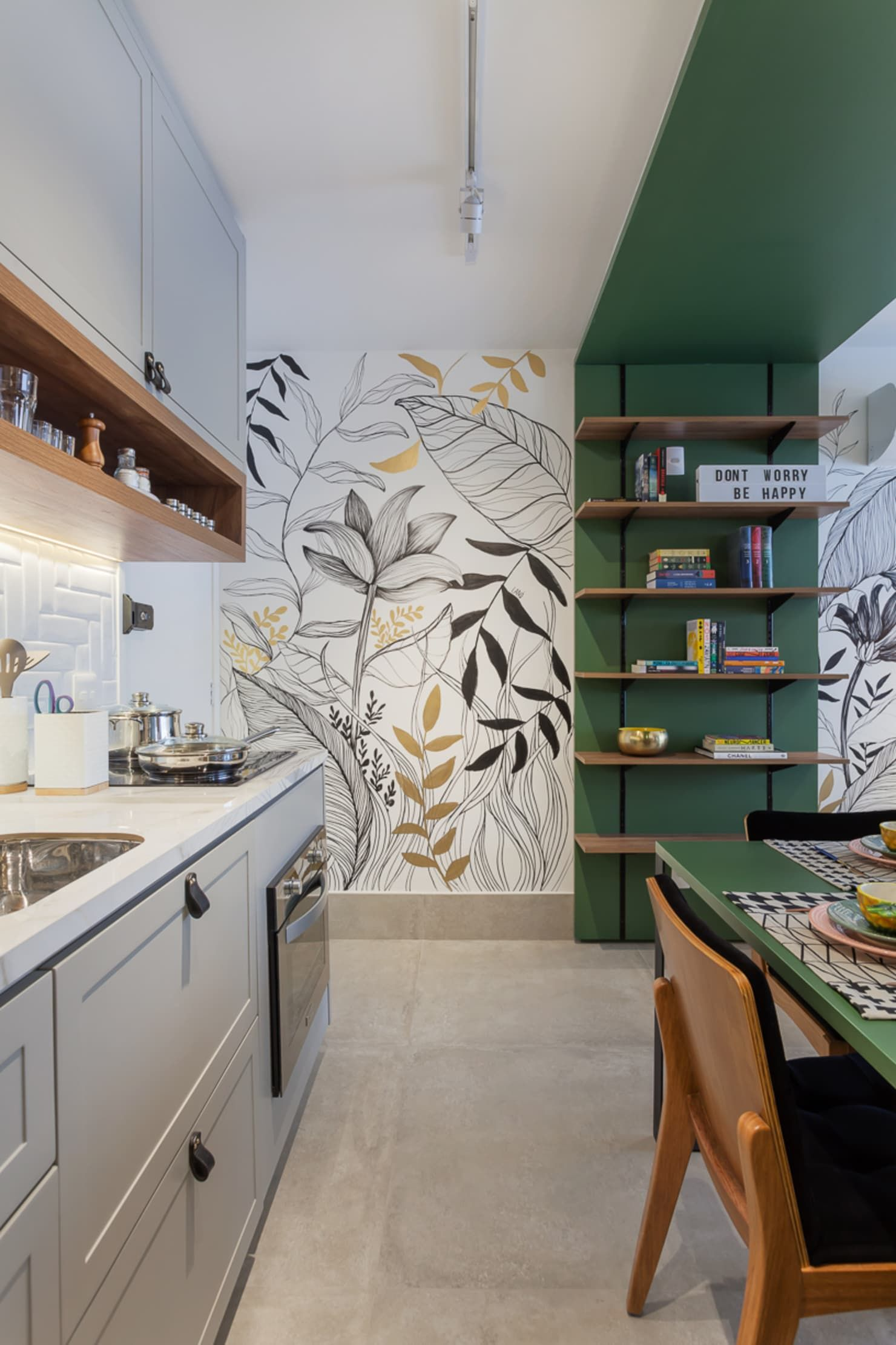 Scenery-wallpapers. 80+ Unusual Kitchen Design Ideas for Small Spaces in 2021