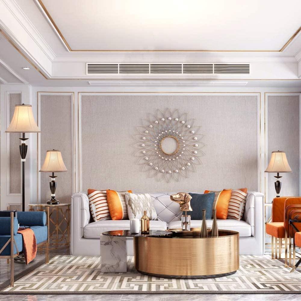 Smeike-3-Pack-Lamp-Set. 10 Unique Floor Lamps to Brighten Your Living Room