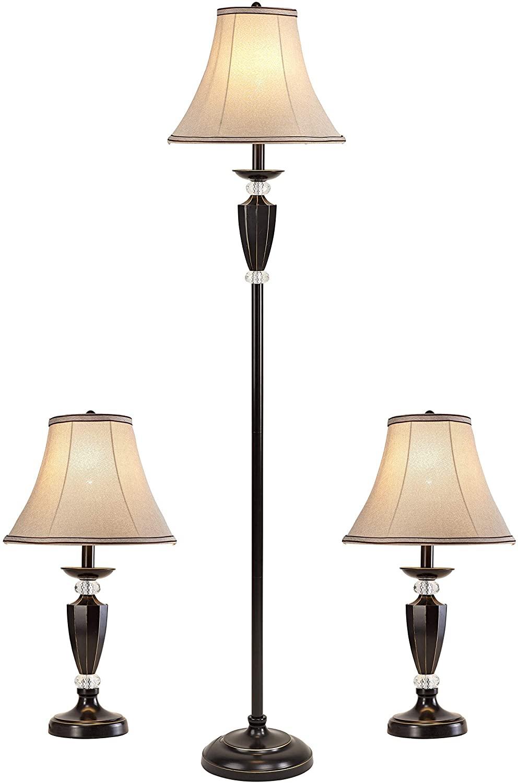 Smeike-3-Pack-Lamp-Set 10 Unique Floor Lamps to Brighten Your Living Room
