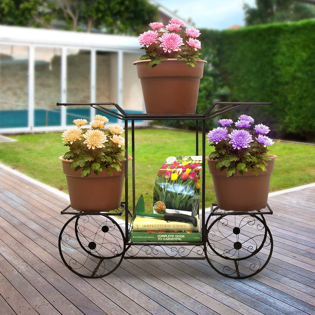 Sorbus-Garden-flower-display. 15 Unique Furniture Designs for Outdoor Small Spaces