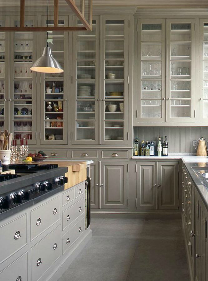 ceiling-height-cabinets 80+ Unusual Kitchen Design Ideas for Small Spaces in 2021