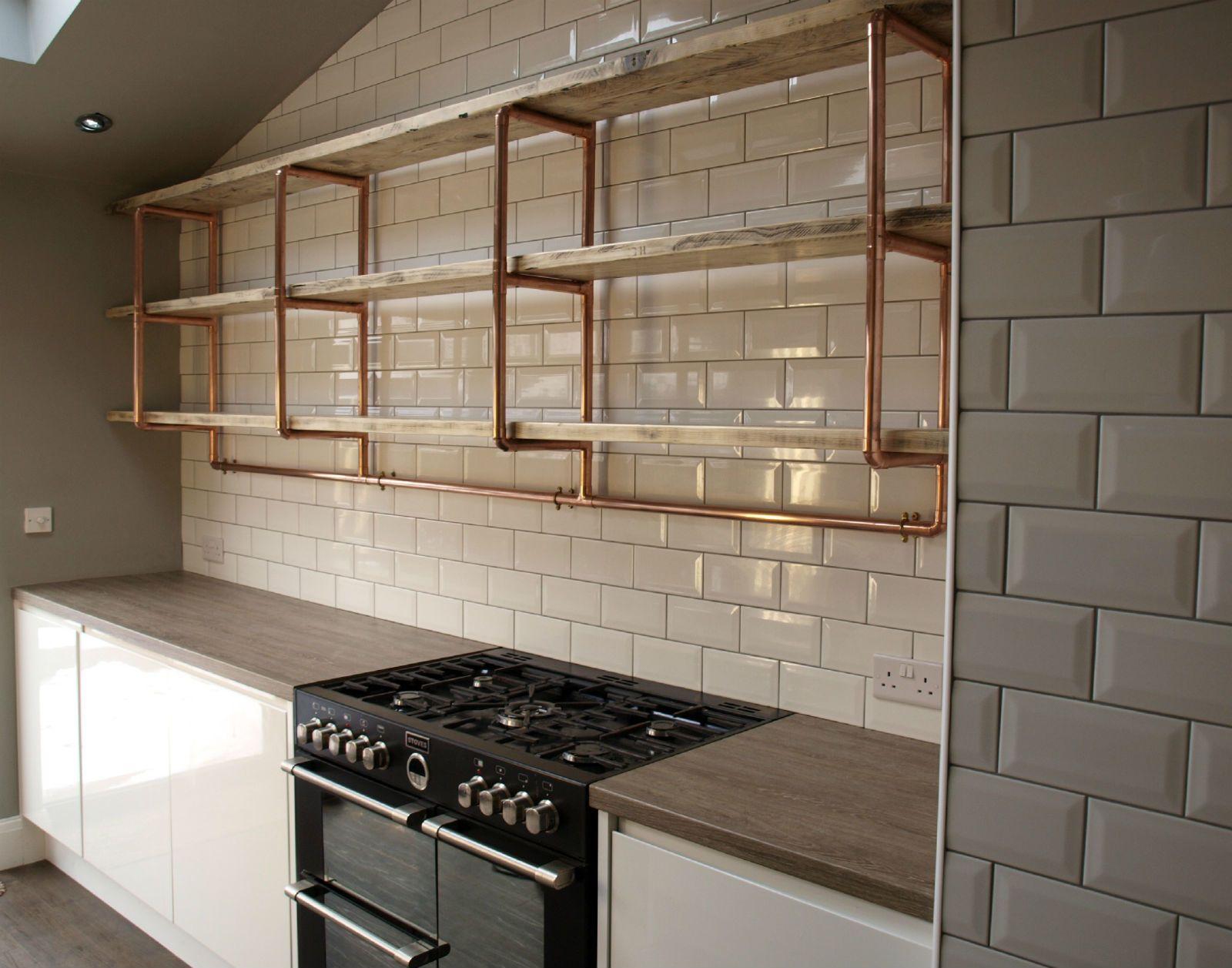 copper-pipes-2 80+ Unusual Kitchen Design Ideas for Small Spaces in 2021