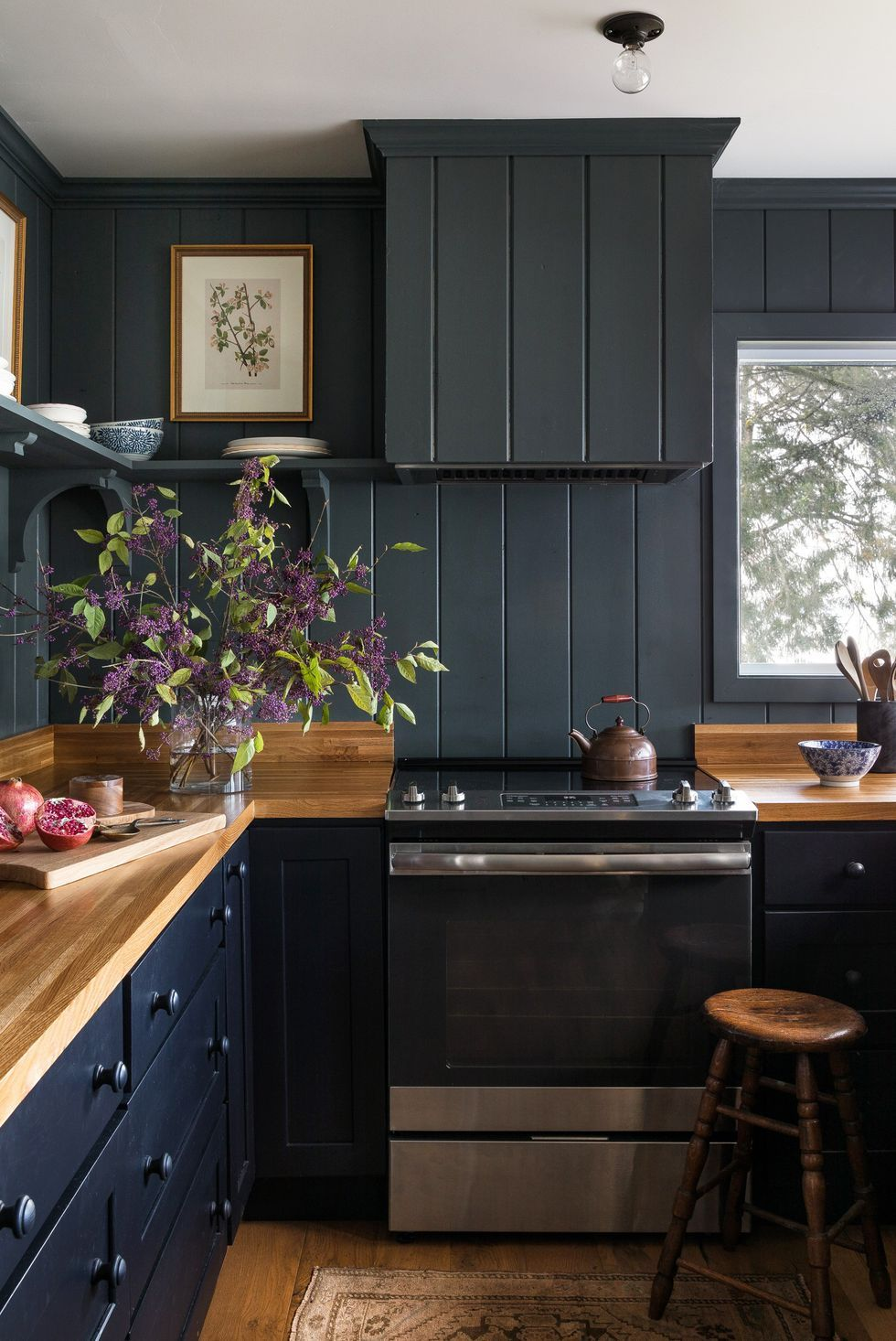 dark-paints 80+ Unusual Kitchen Design Ideas for Small Spaces in 2021