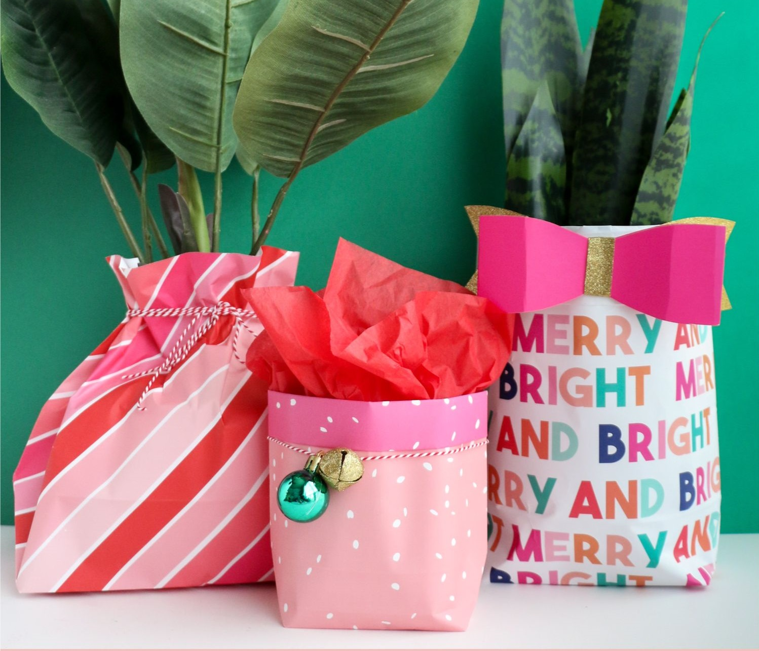 gift-bag How to Make a Gift Bag out of Wrapping Paper
