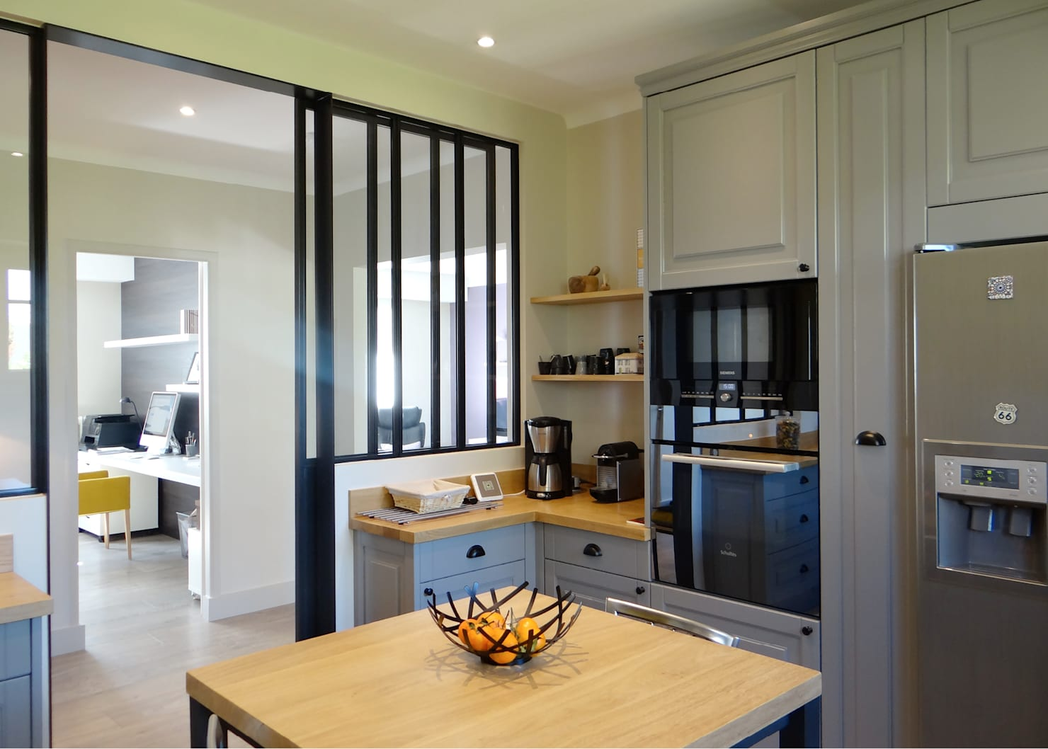glass-doors-.. 80+ Unusual Kitchen Design Ideas for Small Spaces in 2021