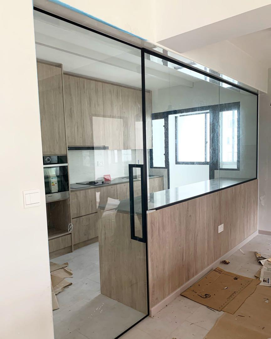 glass-doors-1-1 80+ Unusual Kitchen Design Ideas for Small Spaces in 2021