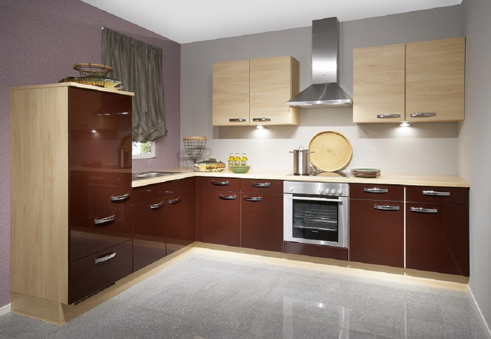 glossy-colors-in-kitchen 80+ Unusual Kitchen Design Ideas for Small Spaces in 2021