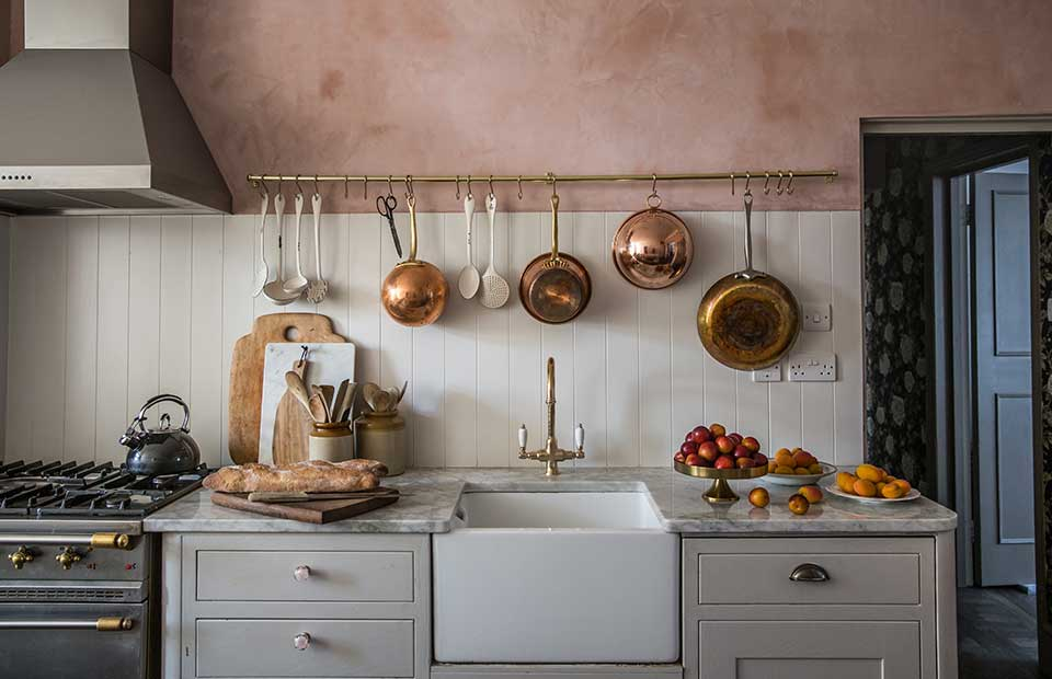 hanging-rod-1 80+ Unusual Kitchen Design Ideas for Small Spaces in 2021