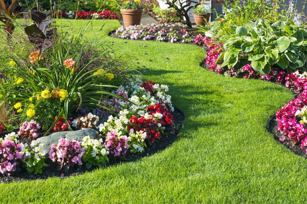 lawn-shapes 100+ Surprising Garden Design Ideas You Should Not Miss in 2021