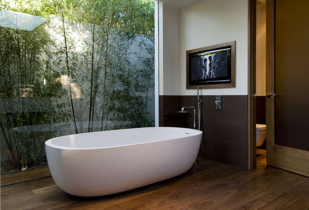 nature-in-bathroom.-2 Best +60 Ideas to Enhance Your Bathroom's Luxuriousness