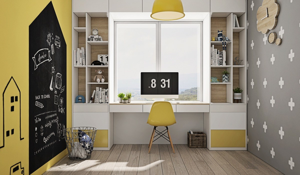 study-space-decoration 10 Tips to Design the Study Space Perfectly