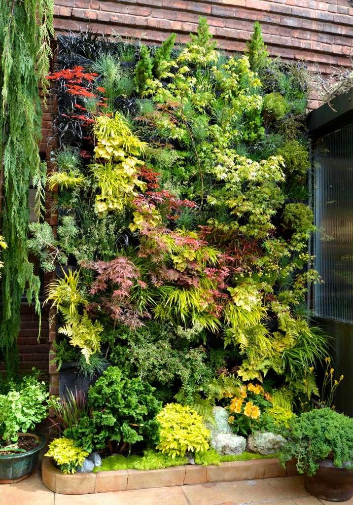 vertical-planting.. 100+ Surprising Garden Design Ideas You Should Not Miss in 2021