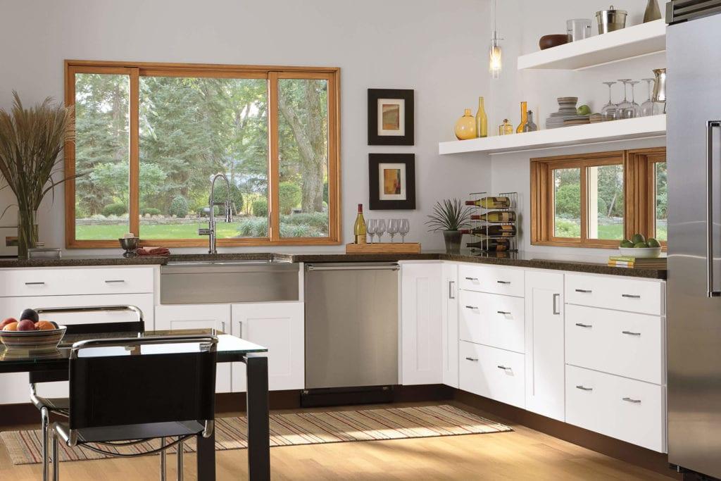 windows.. 80+ Unusual Kitchen Design Ideas for Small Spaces in 2021