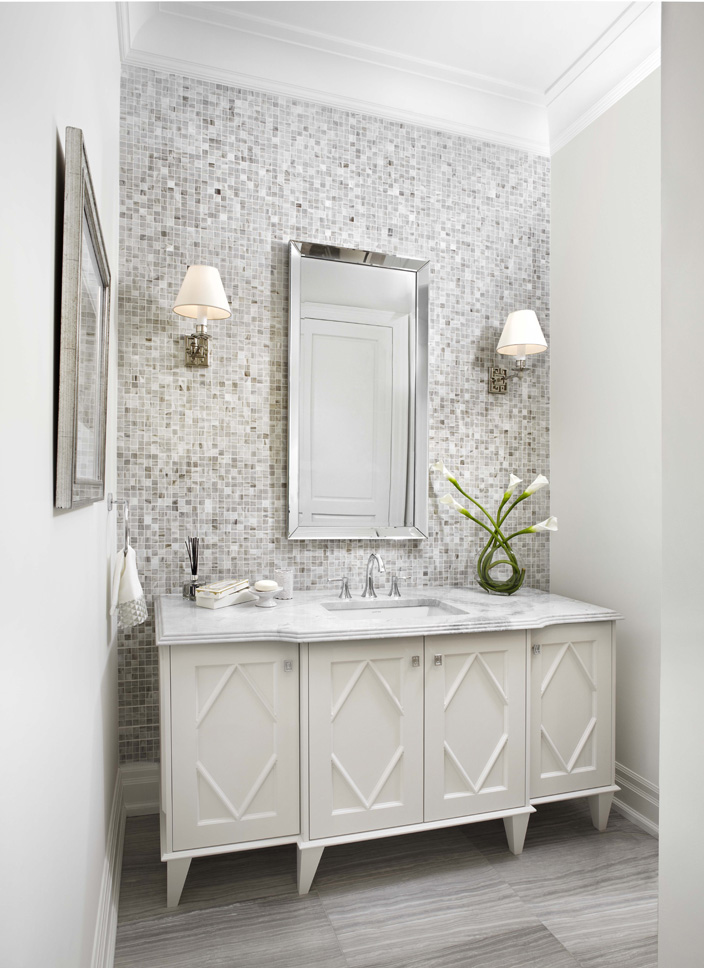 Accent-Walls.-2 Best +60 Ideas to Enhance Your Bathroom's Luxuriousness
